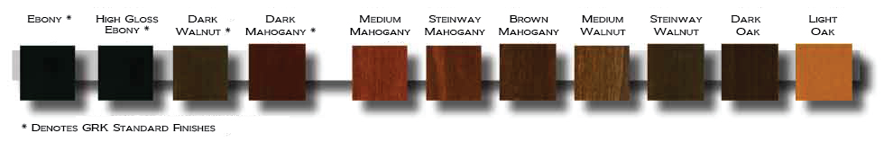 wood finish options sml